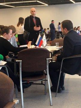 Руководство СИНЭО в жюри всероссийского конкурса молодых предпринимателей среди студентов!